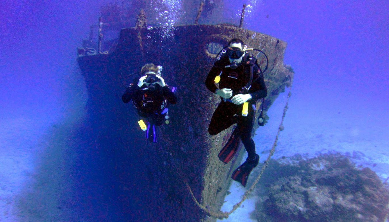 Xicotencatl Sinked Ship Cozumel
